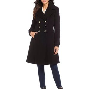 Ivanka Trump double breasted wool coat